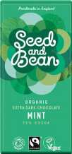 Seed & Bean Organic Mint Dark Chocolate 85g